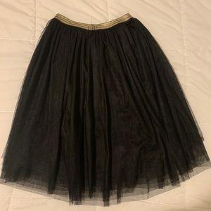 Xhilaration Skirts - Black Tulle Skirt